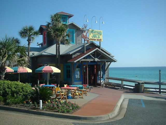 Featured Restaurant Pompano Joe S Offers Fresh Local Seafood With A Caribbean Flair And Great View The Decor Locale Offer